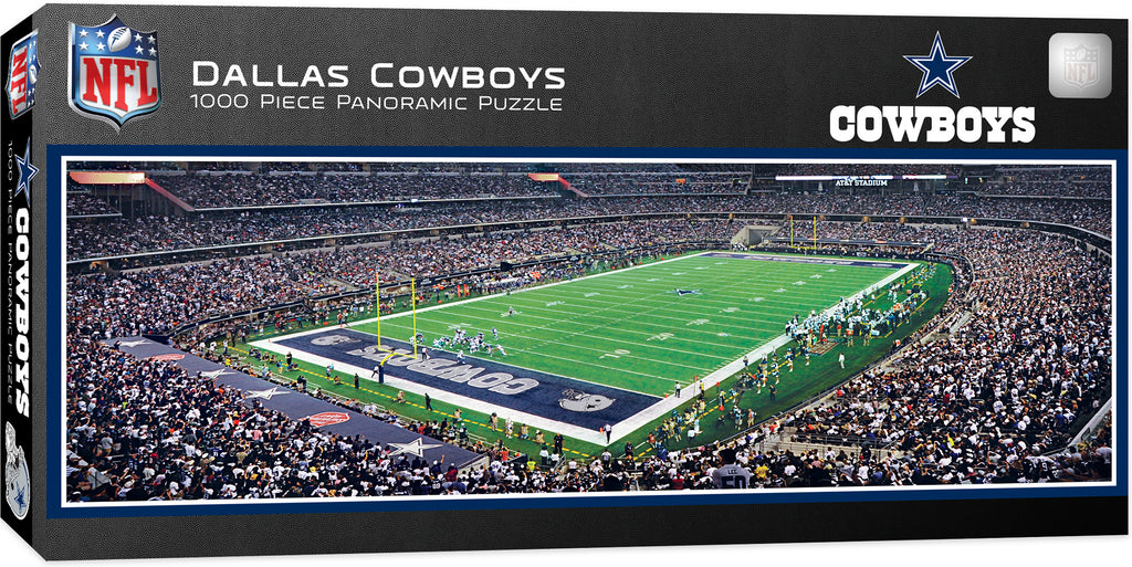 DALLAS COWBOYS AT&T STADIUM PANORAMIC JIGSAW PUZZLE NFL 1000 PC