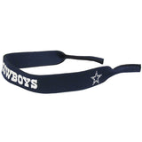 NFL SUNGLASS STRAP NEOPRENE CROAKIE PICK YOUR TEAM LOGO