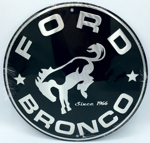 BUILT TOUGH BLVD FORD LOGO METAL STREET SIGN