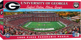 GEORGIA BULLDOGS STADIUM PANORAMIC JIGSAW PUZZLE NCAA 1000 PC SANFORD STADIUM