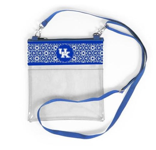 Kentucky Wildcats Clear Game Day Crossbody Bag Purse Stadium Approved