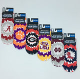 ALABAMA CRIMSON TIDE TEAM SOCKS NEW SUBLIMATED CREW ANKLE NCAA UNISEX PICK A SIZE COLLEGE
