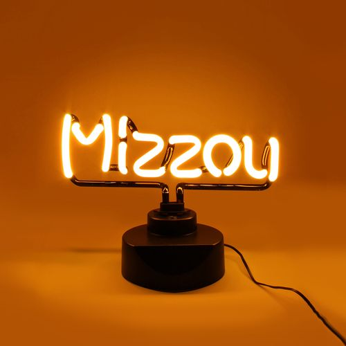 MISSOURI TIGERS NEON SIGN LIGHT TABLE TOP LAMP MIZZOU
