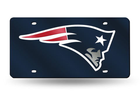 NEW ENGLAND PATRIOTS SUPER BOWL LIII CHAMPIONS LICENSE PLATE NFL