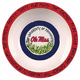 Ole Miss Rebels Melamine Bowl 12