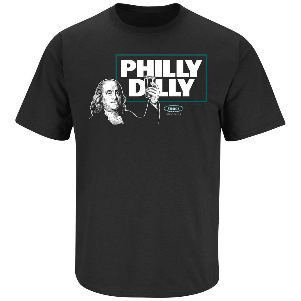 PHILADELPHIA PHILLY DILLY T-SHIRT SMACK SHIRT  EAGLES FOOTBALL