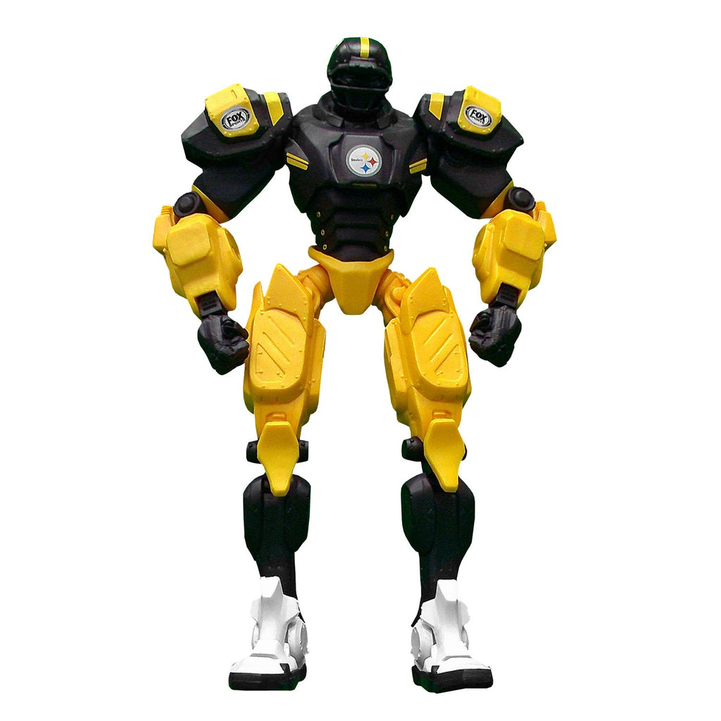 "PITTSBURGH STEELERS NFL FOX SPORTS 10"" ROBOT CLEATUS V2.0 ACTION FIGURE COLLECTOR"