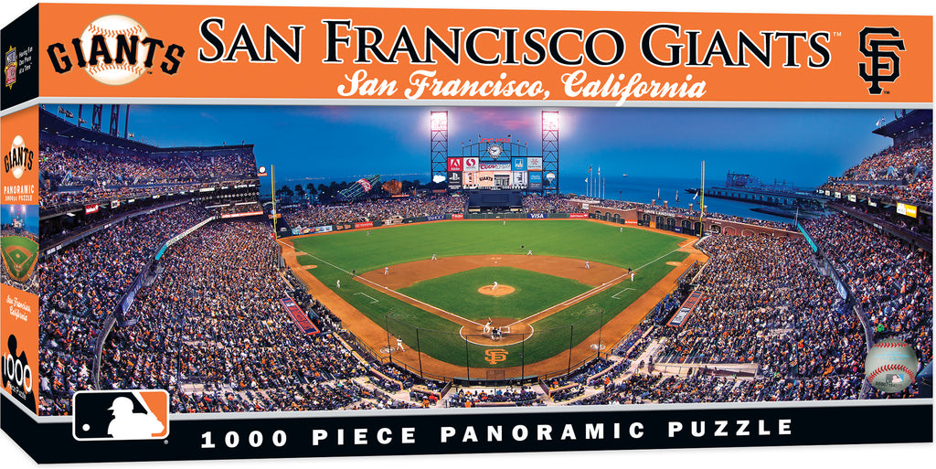SAN FRANCISCO GIANTS AT&T PARK PANORAMIC JIGSAW PUZZLE MLB 1000 PC