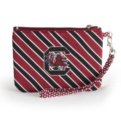 SOUTH CAROLINA GAMECOCKS WRISTLET STADIUM APPROVED GAMEDAY ACCESSORY ID HOLDER STRAP