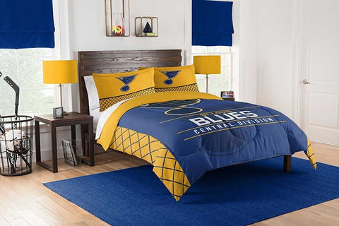 "ST. LOUIS BLUES NHL SOFT FLEECE THROW 50""x 60"" STADIUM BLANKET"