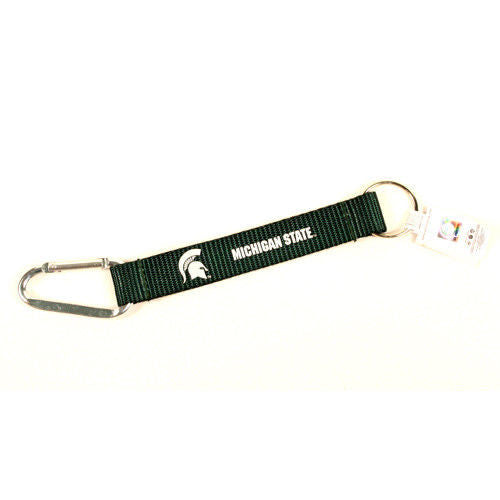 "Caribiner Lanyard Keychain 8"" NCAA Pick Your Team College"