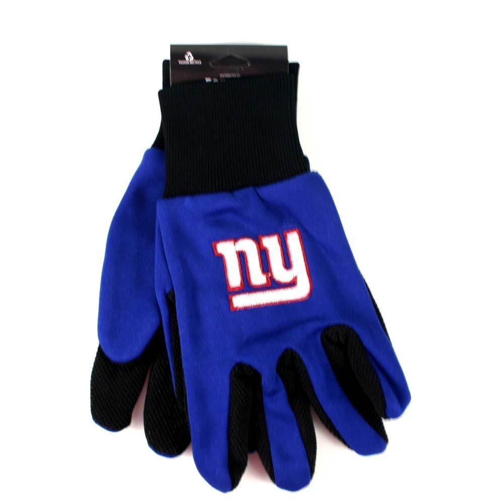 NFL SPORT UTILITY WORK PLAY FOOTBALL GLOVES NO SLIP GRIP ADULT PICK YOUR TEAM