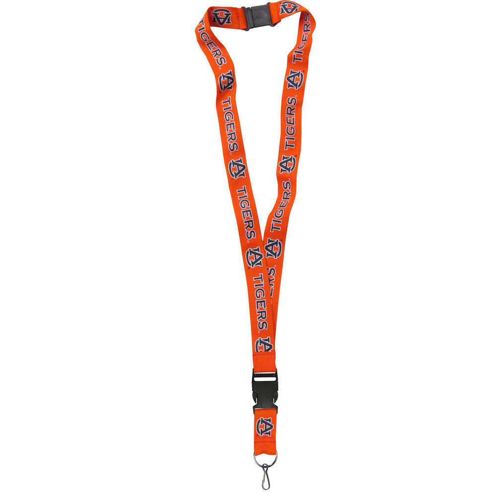 "LANYARD KEY CHAIN CLIP ID / TICKET BADGE HOLDER 21"" NYLON NCAA- PICK YOUR TEAM"