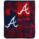 MLB SOFT FLEECE THROW 50