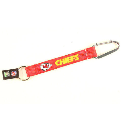 "Caribiner Lanyard Keychain 8"" NFL Pick Your Team Football NEW!"