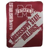 NCAA SOFT FLEECE THROW 50