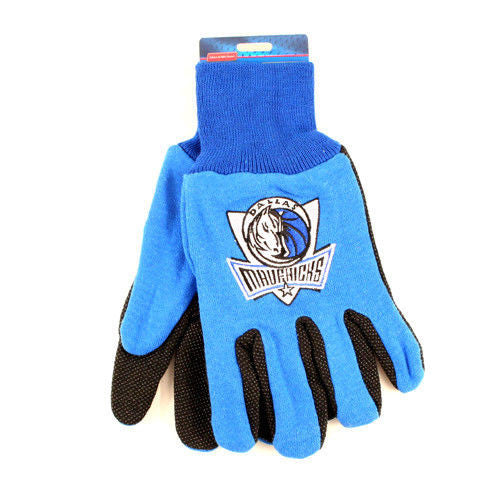 NBA SPORT UTILITY WORK PLAY BASKETBALL GLOVES NO SLIP GRIP ADULT- PICK YOUR TEAM
