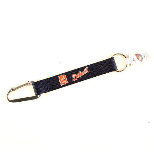 "CARIBINER LANYARD KEYCHAIN 8"" MLB BASEBALL KEY CHAIN NEW! - PICK YOUR TEAM"
