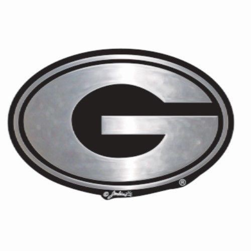 Georgia Bulldogs Car Emblem Chrome Dawgs G Logo University Auto Truck Vehicle