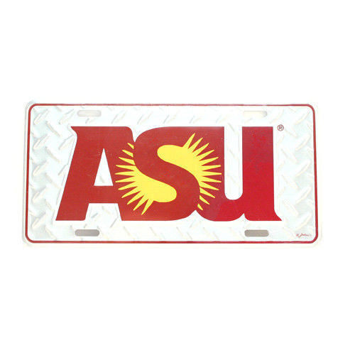 ARIZONA STATE SUN DEVILS CAR TRUCK TAG LICENSE PLATE DIAMOND ASU UNIVERSITY