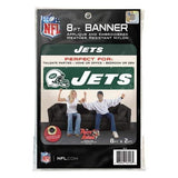 NEW YORK JETS 8' X 2' BANNER 8 FOOT HEAVYWEIGHT NYLON SIGN GROMMETS FLAG NFL