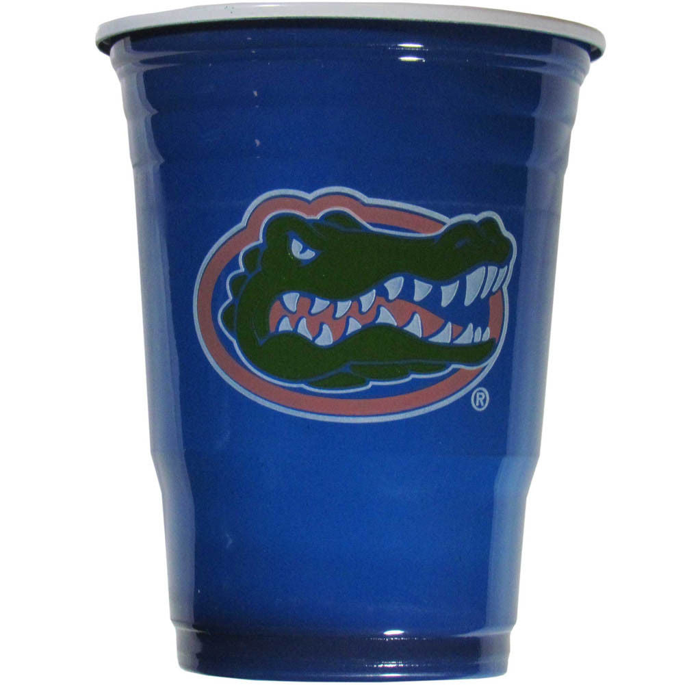 FLORIDA GATORS PLASTIC GAMEDAY CUPS 18OZ 18CT SOLO TAILGATE PARTY SUPPLIES UNIV