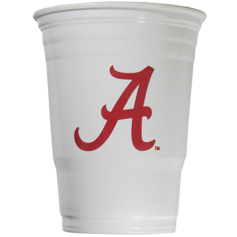 ALABAMA CRIMSON TIDE PLASTIC GAMEDAY CUPS 18OZ 18CT SOLO TAILGATE PARTY SUPPLIES