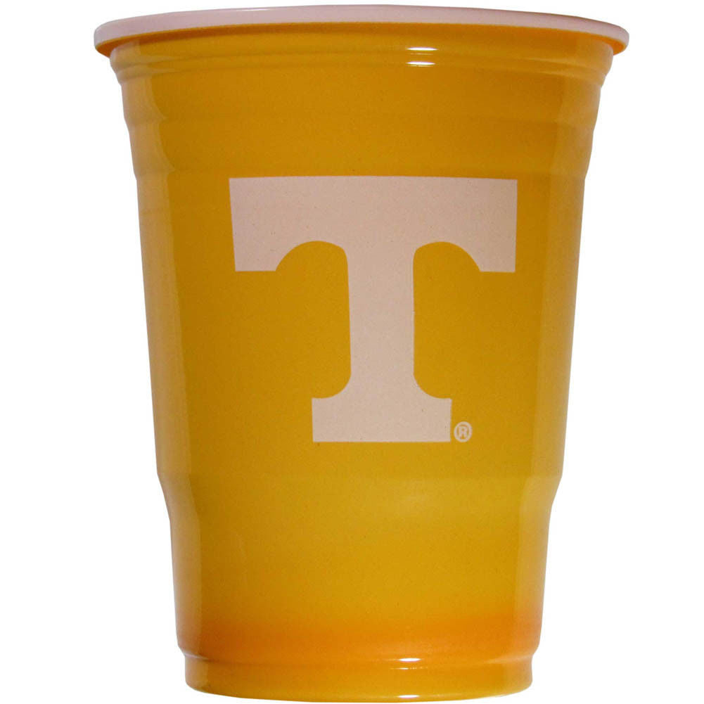 TENNESSEE VOLS PLASTIC GAMEDAY CUPS 18OZ 18CT VOLUNTEERS TAILGATE PARTY SUPPLIES