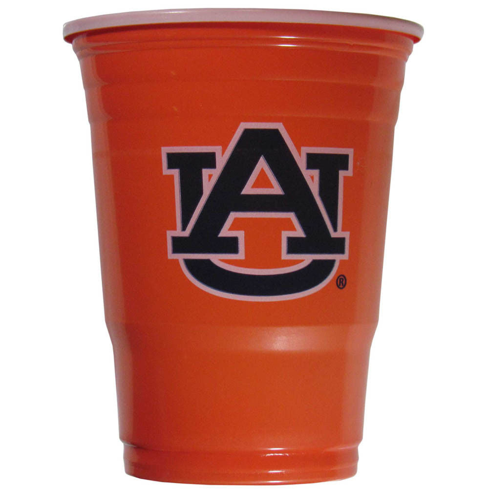 AUBURN TIGERS PLASTIC GAMEDAY CUPS 18OZ 18CT SOLO TAILGATE PARTY SUPPLIES WAR