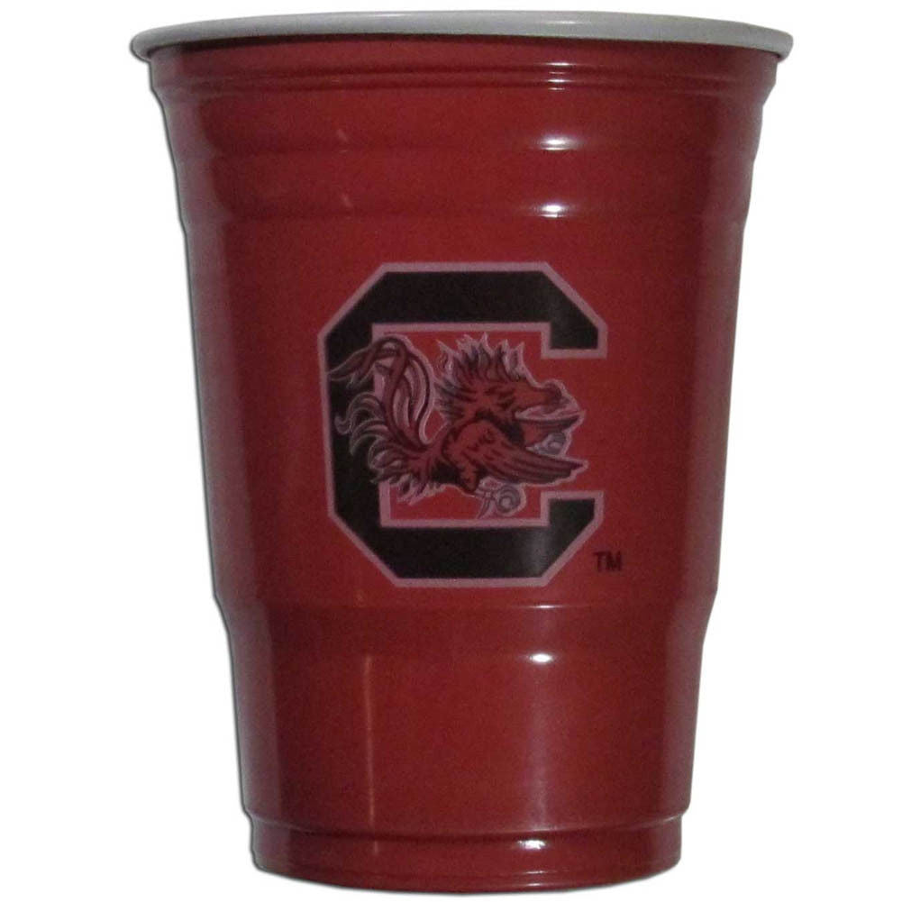 SOUTH CAROLINA GAMECOCKS PLASTIC GAMEDAY CUPS 18OZ 18CT TAILGATE PARTY SUPPLIES