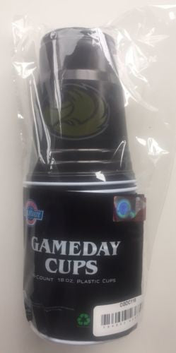 SOUTHERN MISS GOLDEN EAGLES PLASTIC GAMEDAY CUPS 18OZ 18CT MISSISSIPPI TAILGATE