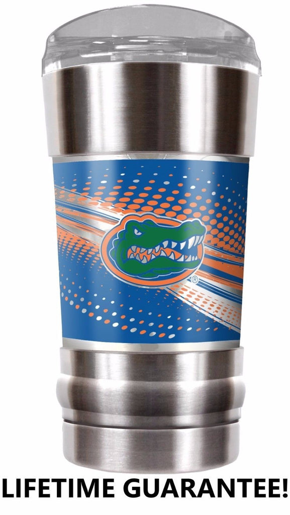 FLORIDA GATORS VACUUM INSULATED STAINLESS STEEL TUMBLER 20OZ TRAVEL MUG