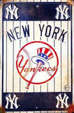 NEW YORK YANKEES METAL SIGN RETRO VINTAGE PARKING SIGN MAN CAVE 8