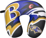 BALTIMORE RAVENS TRAVEL NECK PILLOW 12