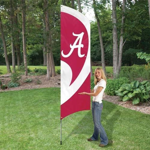 ALABAMA 8' X 2' BANNER 8 FOOT ROLL TIDE BAMA CRIMSON FOOTBALL SIGN UNIVERSITY