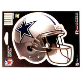 DALLAS COWBOYS HELMET WINDOW DECAL 5.25