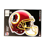 WASHINGTON REDSKINS HELMET WINDOW DECAL 5.25