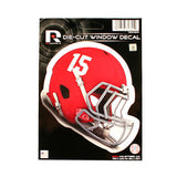 ALABAMA CRIMSON TIDE HELMET WINDOW DECAL 5.25