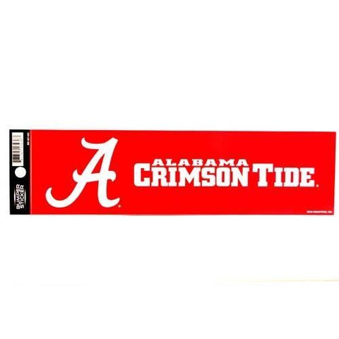 "ALABAMA CRIMSON TIDE HELMET WINDOW DECAL 5.25"" X 6.25"" STICKER CAR TRUCK DIE-CUT"