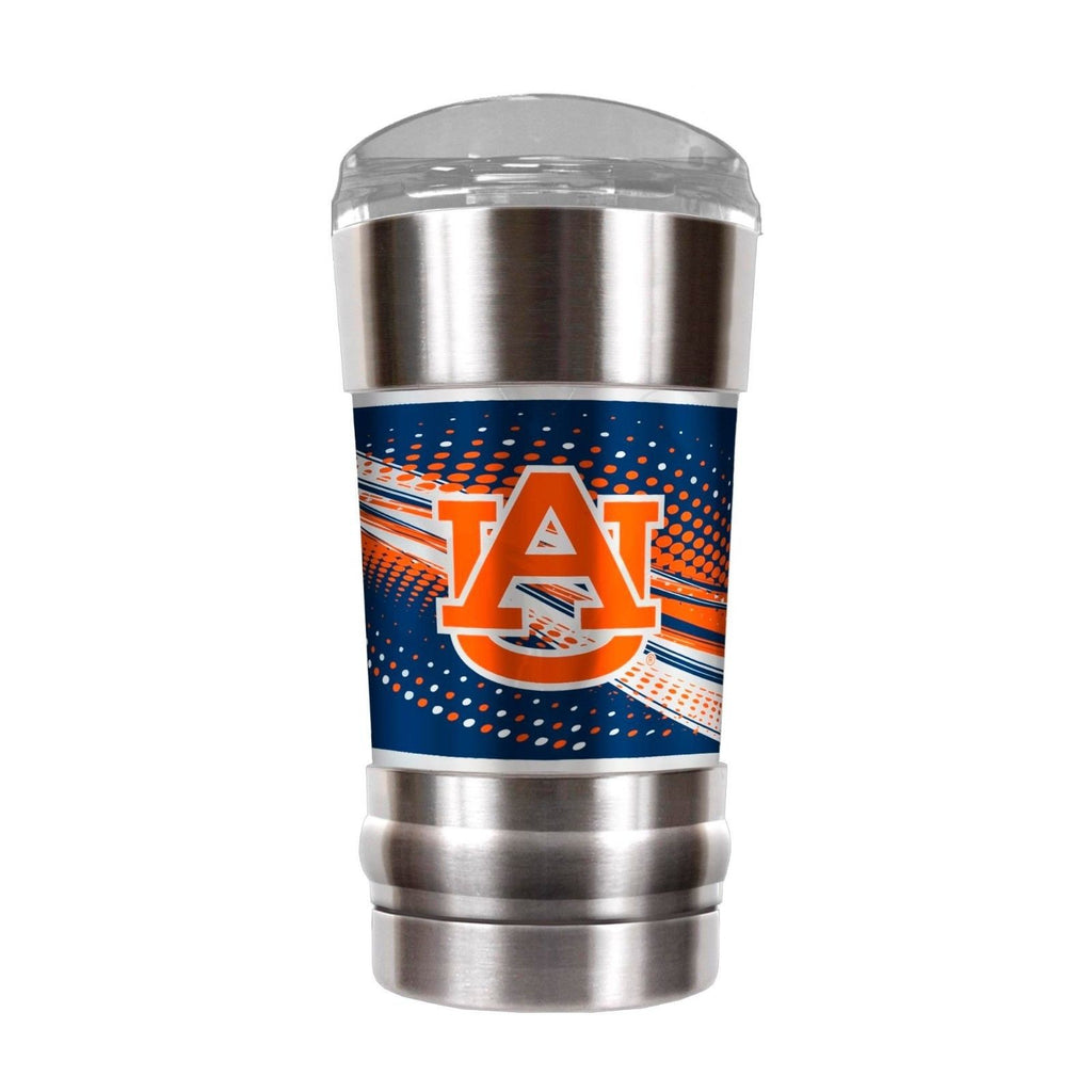 AUBURN TIGERS VACUUM INSULATED STAINLESS STEEL TUMBLER 20OZ TRAVEL MUG BPA FREE