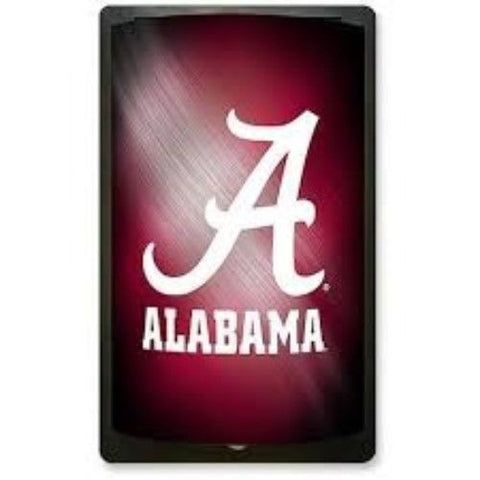 ALABAMA CRIMSON TIDE ID TRAVEL CRYSTAL VIEW LUGGAGE TEAM TAG