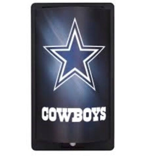 DALLAS COWBOYS MOTIGLOW LIGHT UP SIGN MOTION ACTIVATED PREMIUM NFL