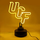 CENTRAL FLORIDA KNIGHTS NEON SIGN LIGHT LAMP UCF UNIVERSITY MAN CAVE GAME ROOM