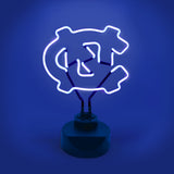 NORTH CAROLINA TAR HEELS NEON SIGN LIGHT LAMP UNIVERSITY MAN CAVE GAME ROOM