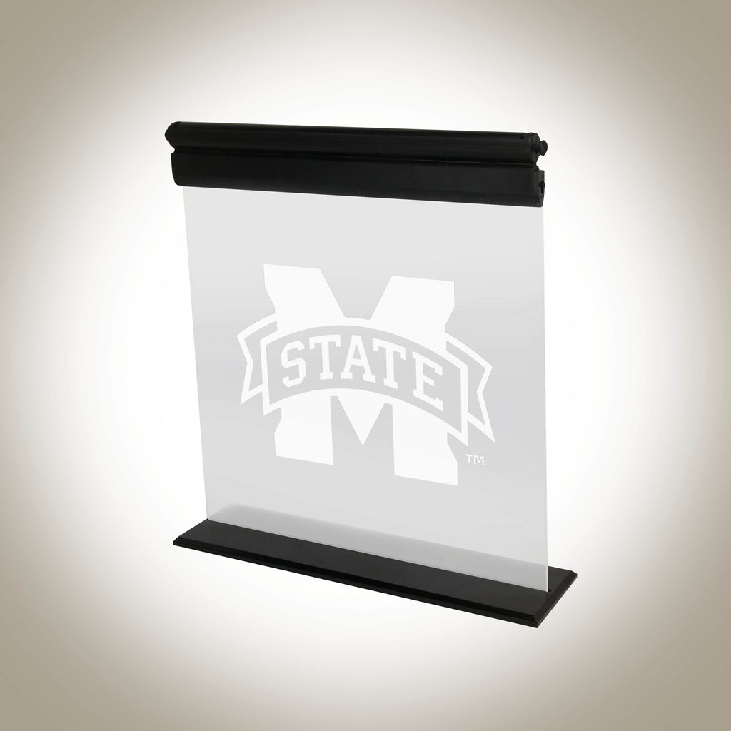 MISSISSIPPI STATE BULLDOGS ACRYLIC LED SIGN
