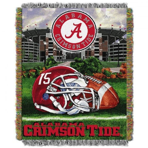 ALABAMA CRIMSON TIDE CHROME LICENSE PLATE FRAME ALL OVER TAG COVER AUTO AFC