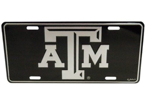 TEXAS A&M AGGIES ELITE CAR TRUCK TAG LICENSE PLATE BLACK SIGN UNIVERSITY