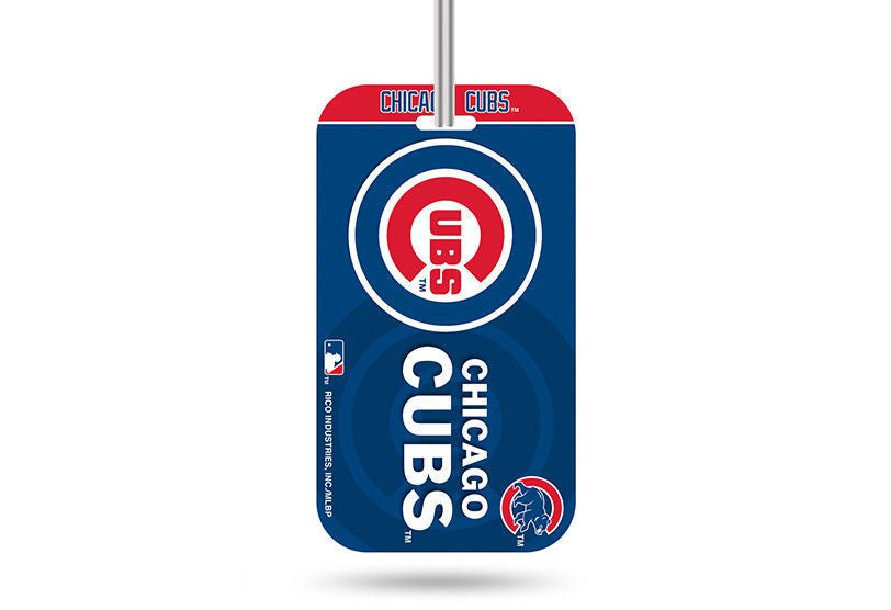 CHICAGO CUBS ID TRAVEL CRYSTAL VIEW BASEBALL LUGGAGE TEAM TAG