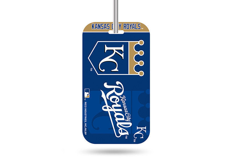 KANSAS CITY ROYALS ID TRAVEL CRYSTAL VIEW BASEBALL LUGGAGE TEAM TAG