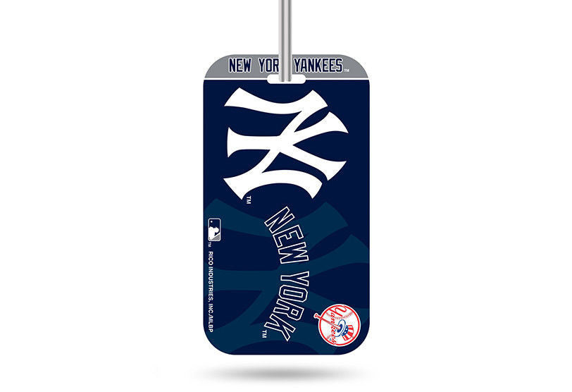 New York Yankees ID Travel Crystal View Luggage Tag MLB